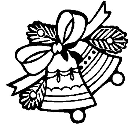 Christmas Bells Coloring Pages 1