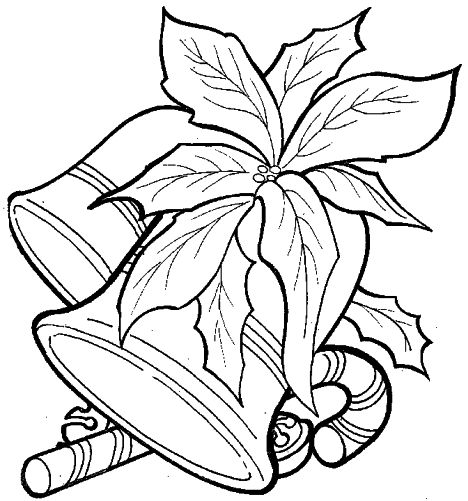 Christmas Bells Coloring Pages 12