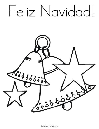 Christmas Bells Coloring Pages 14