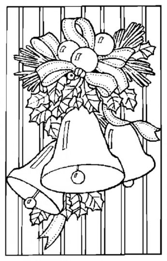 Christmas Bells Coloring Pages 15