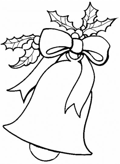 Christmas Bells Coloring Pages 17