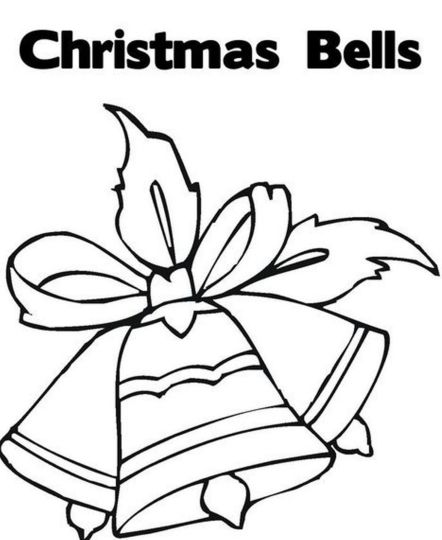 Christmas Bells Coloring Pages 18
