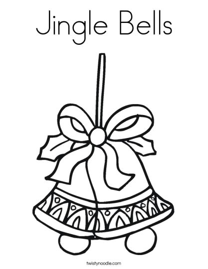 Christmas Bells Coloring Pages 20