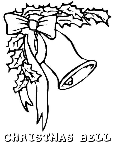 Christmas Bells Coloring Pages 23