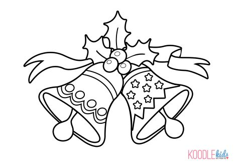 Christmas Bells Coloring Pages 25