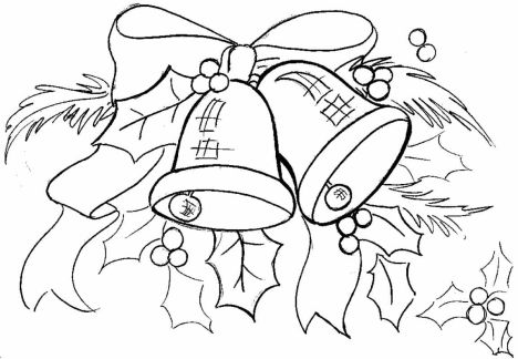 Christmas Bells Coloring Pages 27