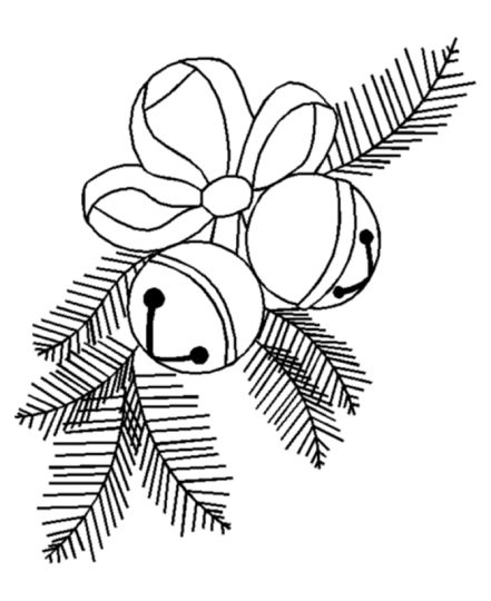 Christmas Bells Coloring Pages 3