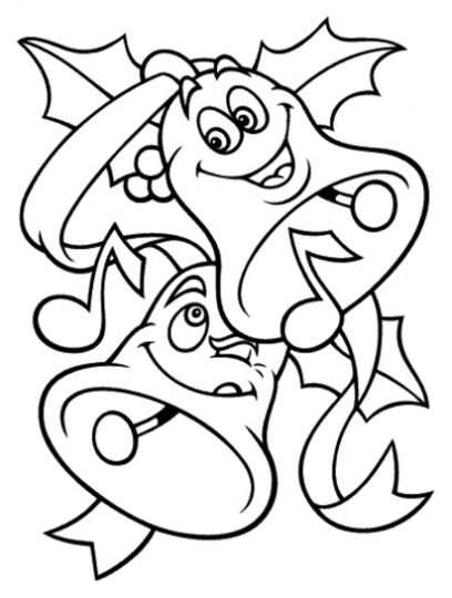 Christmas Bells Coloring Pages 30