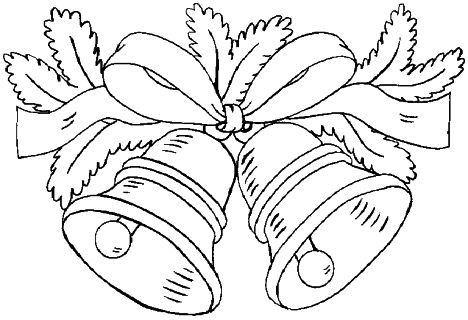 Christmas Bells Coloring Pages 37