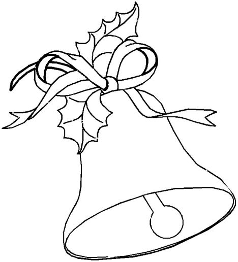 Christmas Bells Coloring Pages 40