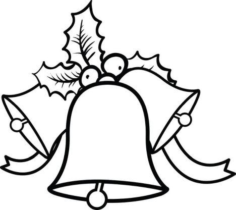 Christmas Bells Coloring Pages 42