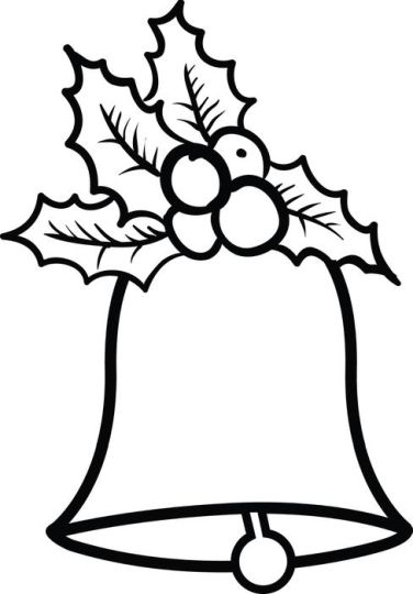 Christmas Bells Coloring Pages 43