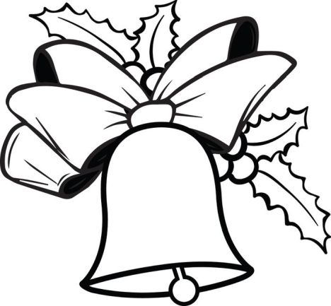 Christmas Bells Coloring Pages 44
