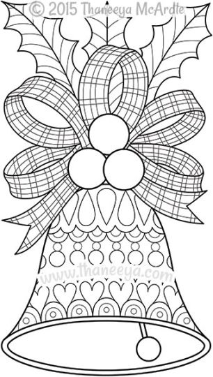 Christmas Bells Coloring Pages 46