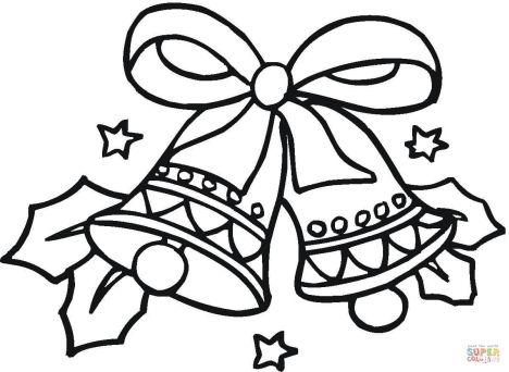Christmas Bells Coloring Pages 49