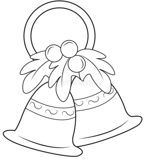 Christmas Bells Coloring Pages 5