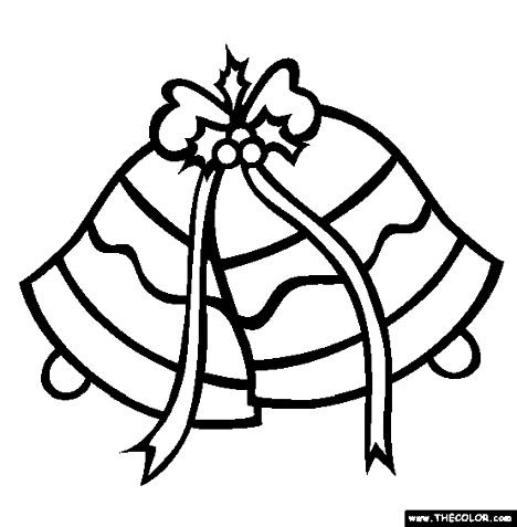 Christmas Bells Coloring Pages 52