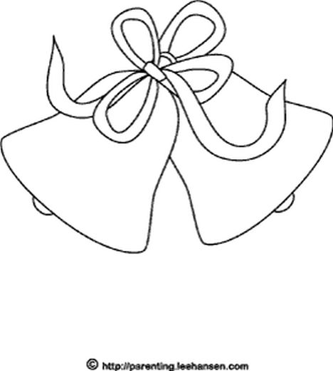 Christmas Bells Coloring Pages 54