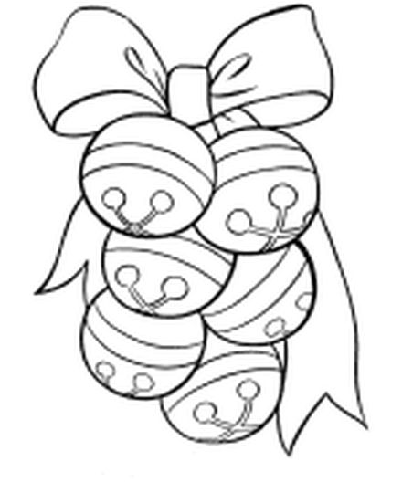 Christmas Bells Coloring Pages 56