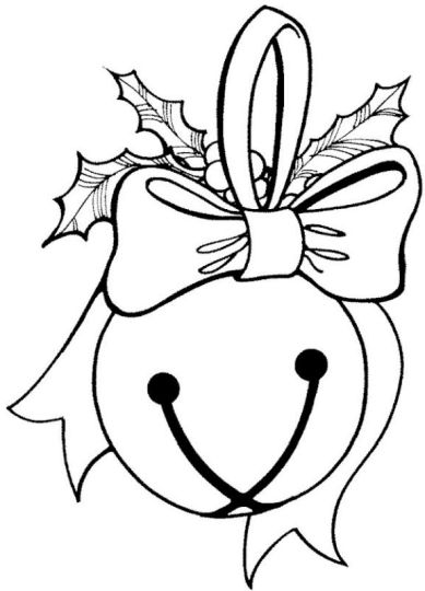 Christmas Bells Coloring Pages 58