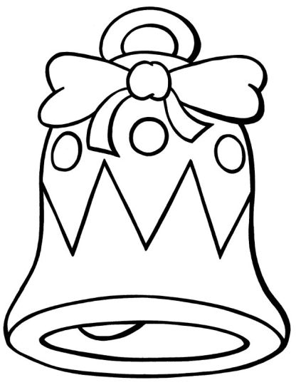 Christmas Bells Coloring Pages 59