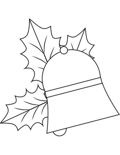 Christmas Bells Coloring Pages 65