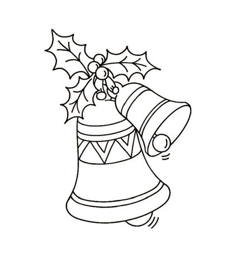 Christmas Bells Coloring Pages 66
