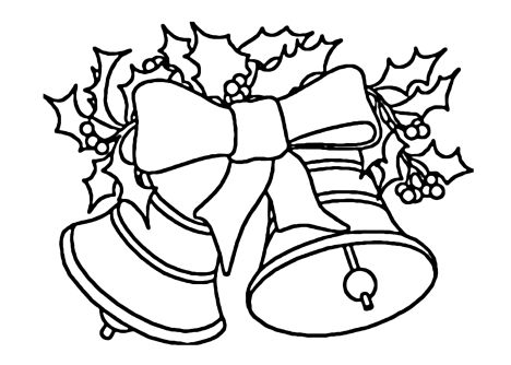 Christmas Bells Coloring Pages 68