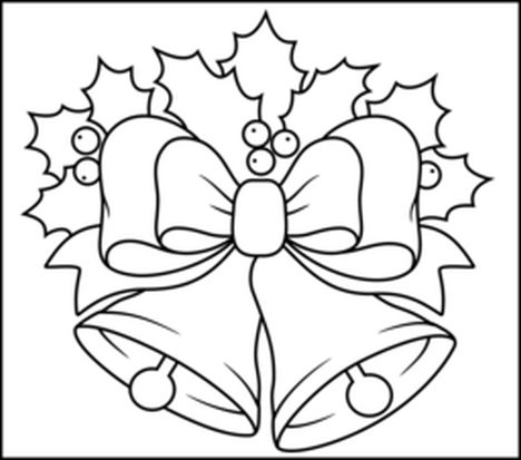 Christmas Bells Coloring Pages 7