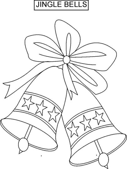 Christmas Bells Coloring Pages 70