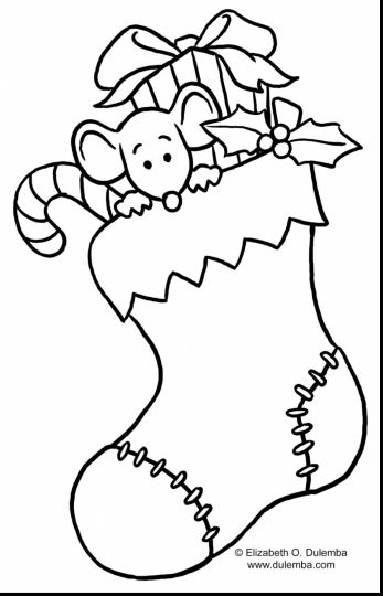 Christmas Light Coloring Page 30