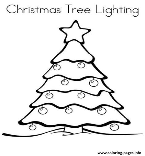 Christmas Light Coloring Page 51
