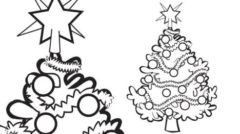 Christmas Light Coloring Page 54