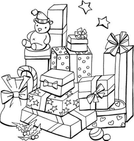 Christmas Present Color Page 15
