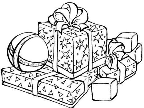 Christmas Present Color Page 24
