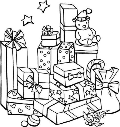 Christmas Present Color Page 25
