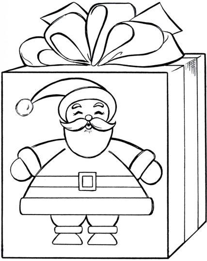 Christmas Present Color Page 27