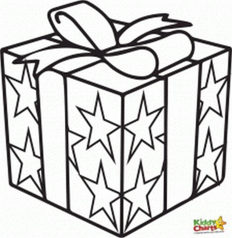 Christmas Present Color Page 29