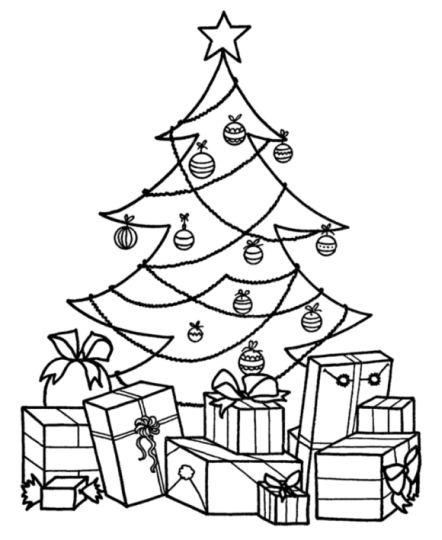 Christmas Present Color Page 31