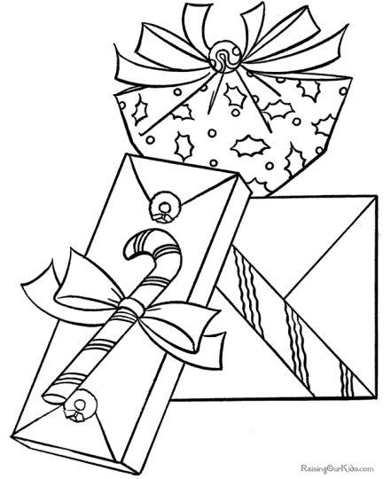 Christmas Present Color Page 32
