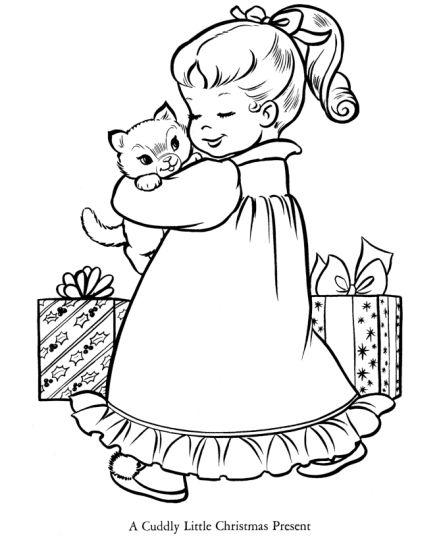 Christmas Present Color Page 42
