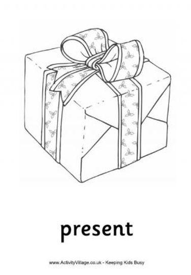 Christmas Present Color Page 47