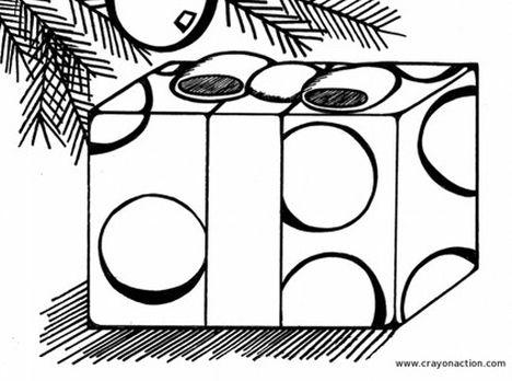 Christmas Present Color Page 48