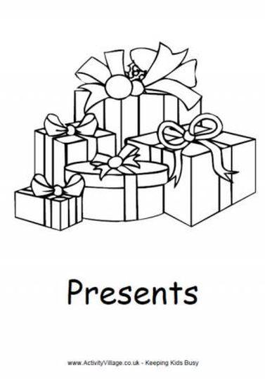 Christmas Present Color Page 49