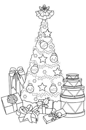 Christmas Present Color Page 50
