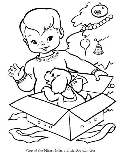 Christmas Present Color Page 57