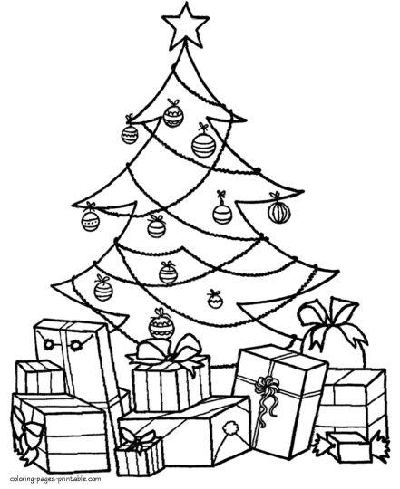 Christmas Present Color Page 67