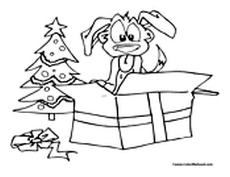 Christmas Tree With Presents Coloring Page 16