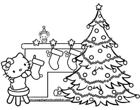 Christmas Tree With Presents Coloring Page 63