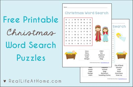 Christmas wordsearch for kids 36
